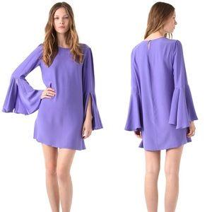 {Elizabeth & James} Orchid Mabel Bell Sleeve Dress